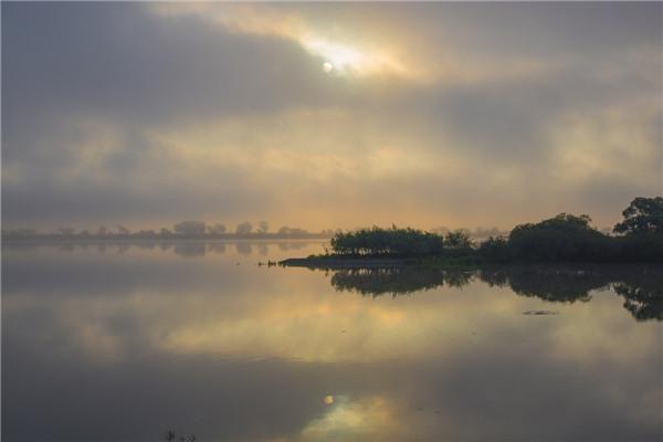 摄影:于云天  作品名:《湿地寻梦》              拍摄地点:双鸭山市饶河南湖湿地