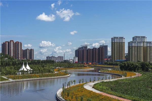 摄影:李秀顶  作品名:《安邦河畔》              拍摄地点:双鸭山市安邦河