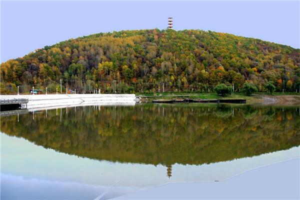 摄影:孙维本  作品名:《青山意象》              拍摄地点:双鸭山市青山旅游区