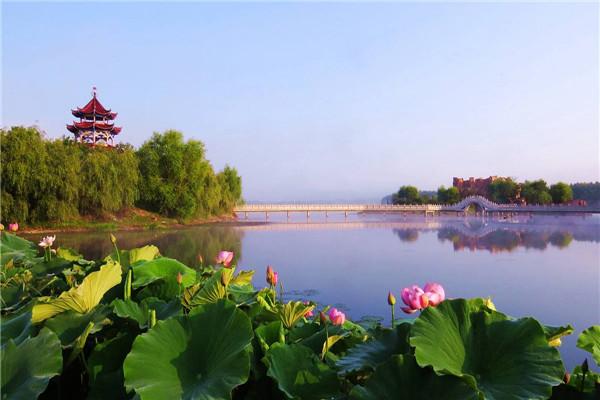 摄影:于红伟  作品名:《一禹仙境》              拍摄地点:双鸭山市饶河农场水上公园