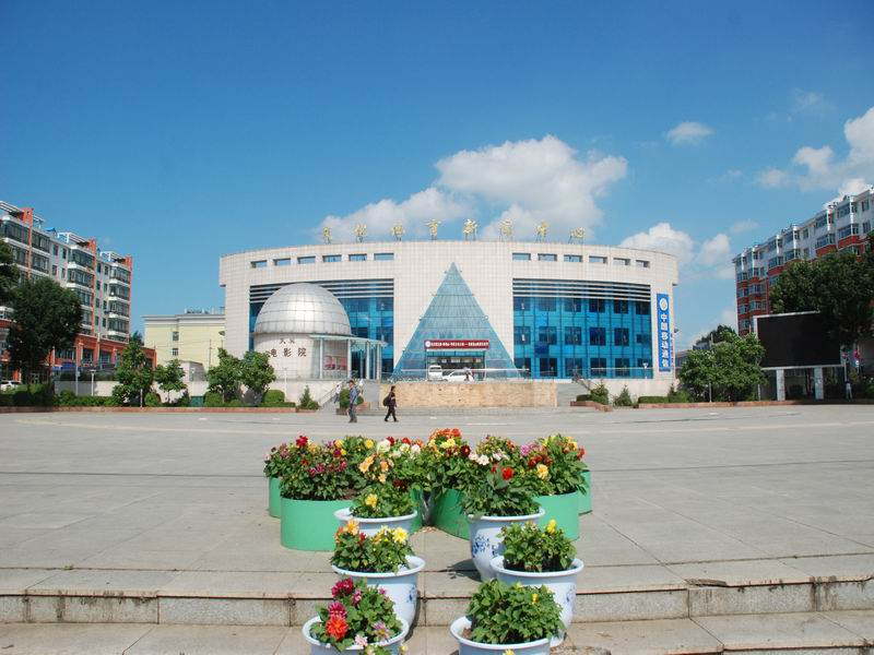 宝山区文化广场