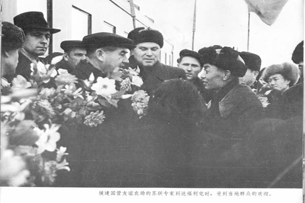 欢迎苏联专家  作者:吴国华